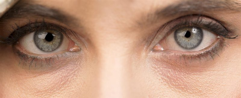 woman portrait - close-up photo of the eyes